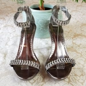 Blossom Collection Matha Bejeweled Sandals